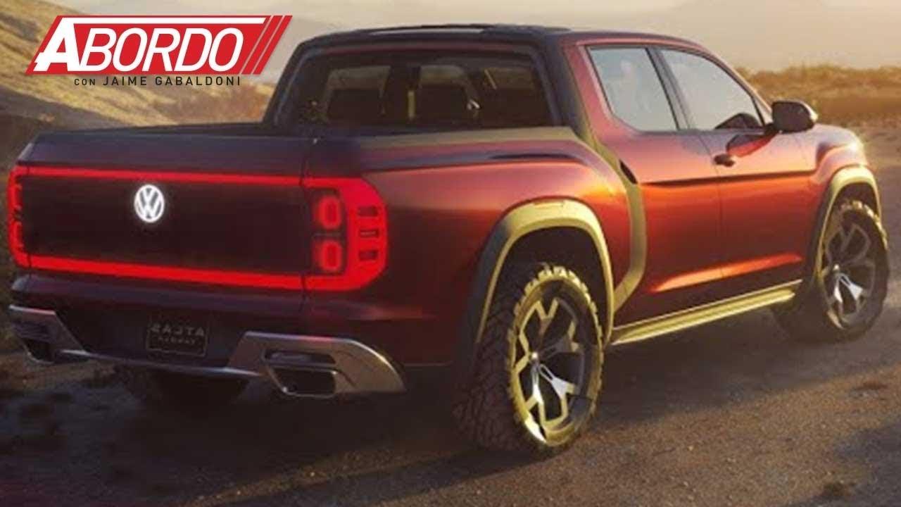¿Una nueva pickup Volkswagen para EEUU?: New York Auto Show - YouTube