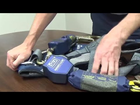 How to install the 3M™ DBI-SALA® Nano-Lok™ Twin-Leg SRL with Triple Locking Carabiner
