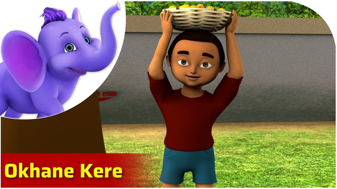 Download Okhane Kere | Bengali Song for Kids | 4K | Appu Series