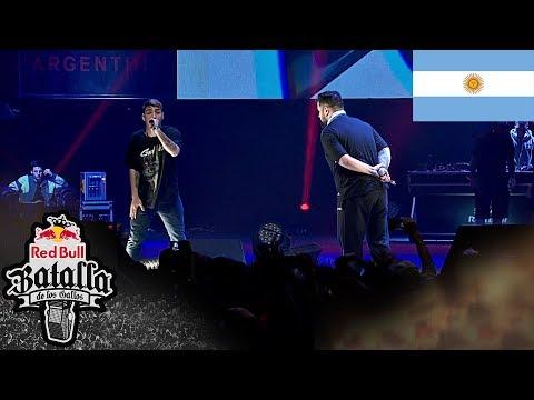 NACHO vs PAPO: Octavos – Final Nacional Argentina 2018  | Red Bull Batalla De Los Gallos
