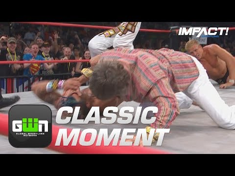 Kevin Von Erich Delivers The IRON CLAW at Slammiversary 2014! | Classic IMPACT Wrestling Moments