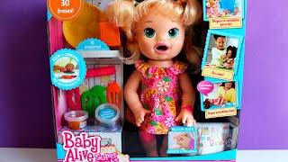 Baby Alive Comilona Super Snacks