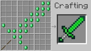 How To Craft New OP Tools in Minecraft Pocket Edition (More Weapons Addon)