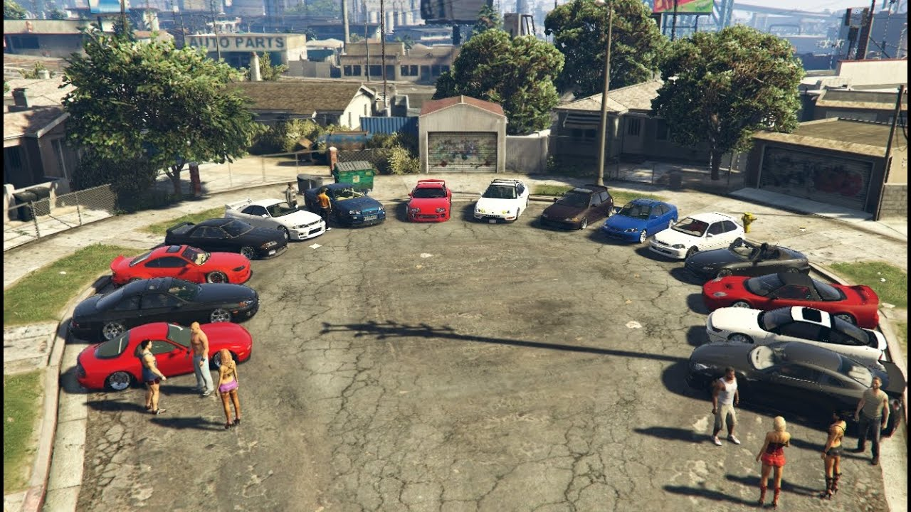 gta 5 jdm meet ps3