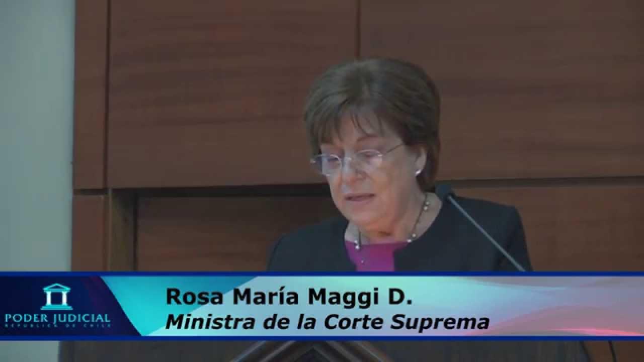 Resultado de imagen para FOTO DE LA JUEZA ROSA MARIA MAGGI