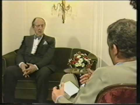 Horowitz Interview in Germany (1986)-rare