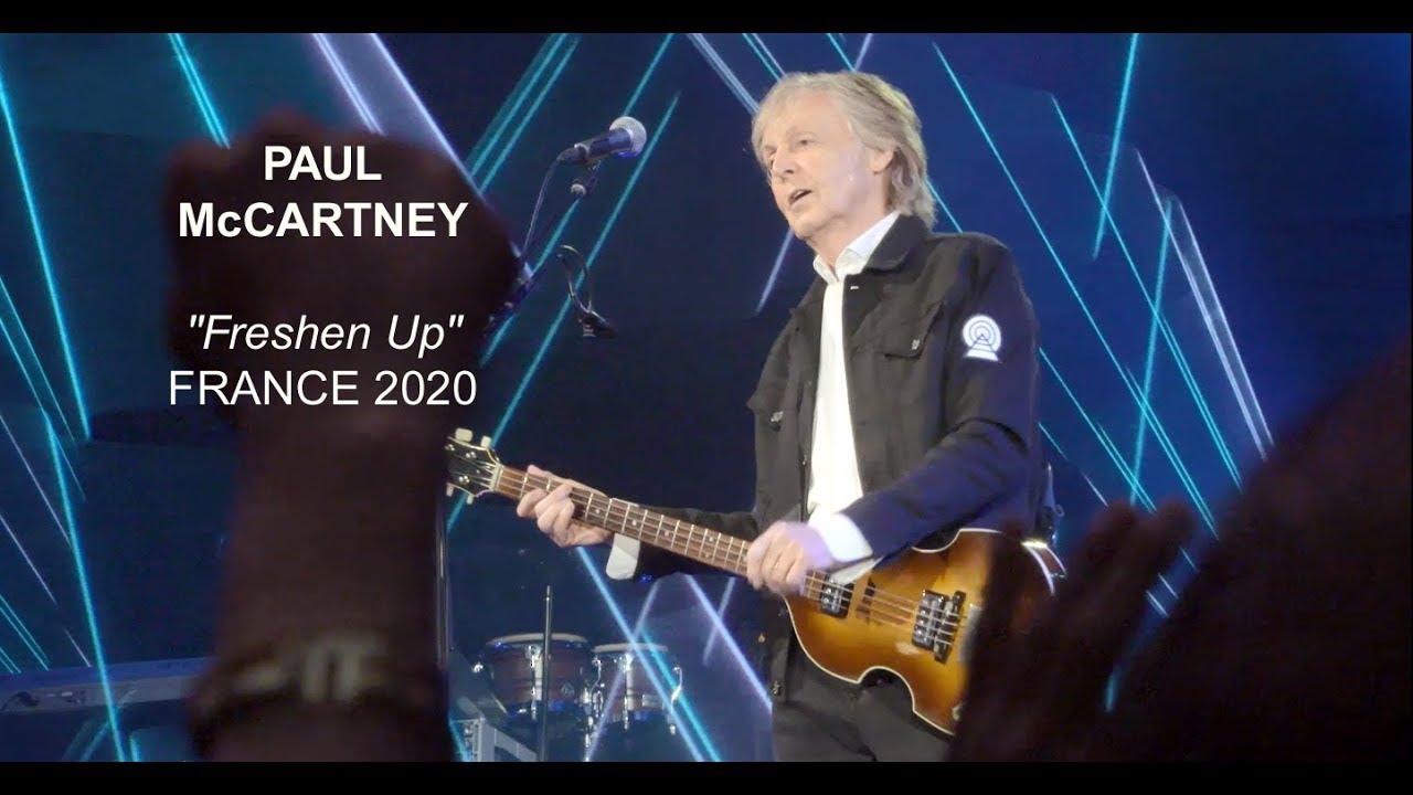 Paul McCartney Freshen Up in France 2020 - YouTube