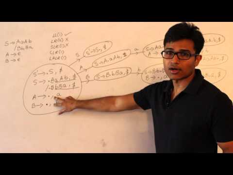 Compiler Design Lecture 15 -- conflicts and examples of CLR(1) and LALR(1)