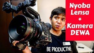 Nyoba Kamera Dan Lensa KELAS SINEMA ! | Canon Cinema C200 Indonesia
