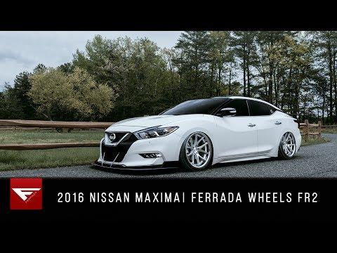 2016 Nissan Maxima   Ferrada Wheels FR2