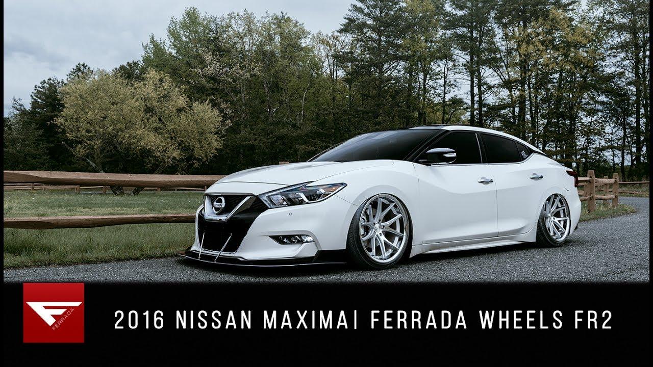 2016 Nissan Maxima | Ferrada Wheels FR2 - YouTube