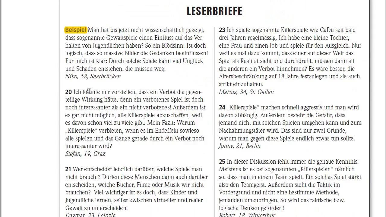 экзамен по немецкому B1 Goethe Zertifikat B1 чтение Lesen анализ