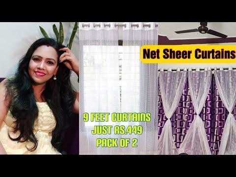 Net Sheer Curtains/Amazon