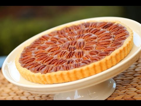 Beth's Chocolate Pecan Tart Recipe | ENTERTAINING WITH BETH