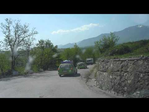 MOUNTAIN ROADS IN ALBANIA - Driving through Albania | Great Streets of Albania