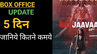 Marjaavaan box office collection Marjaavaan 5 day box office collection