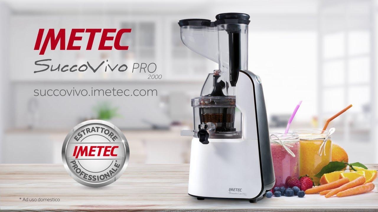 Estrattore di succo professionale imetec succovivo pro for Imetec estrattore