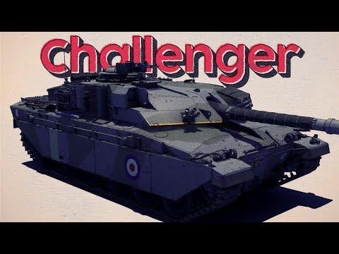 Finally a Mobile Tier 6 British MBT - Challenger Mk 2 - War Thunder RB Gameplay