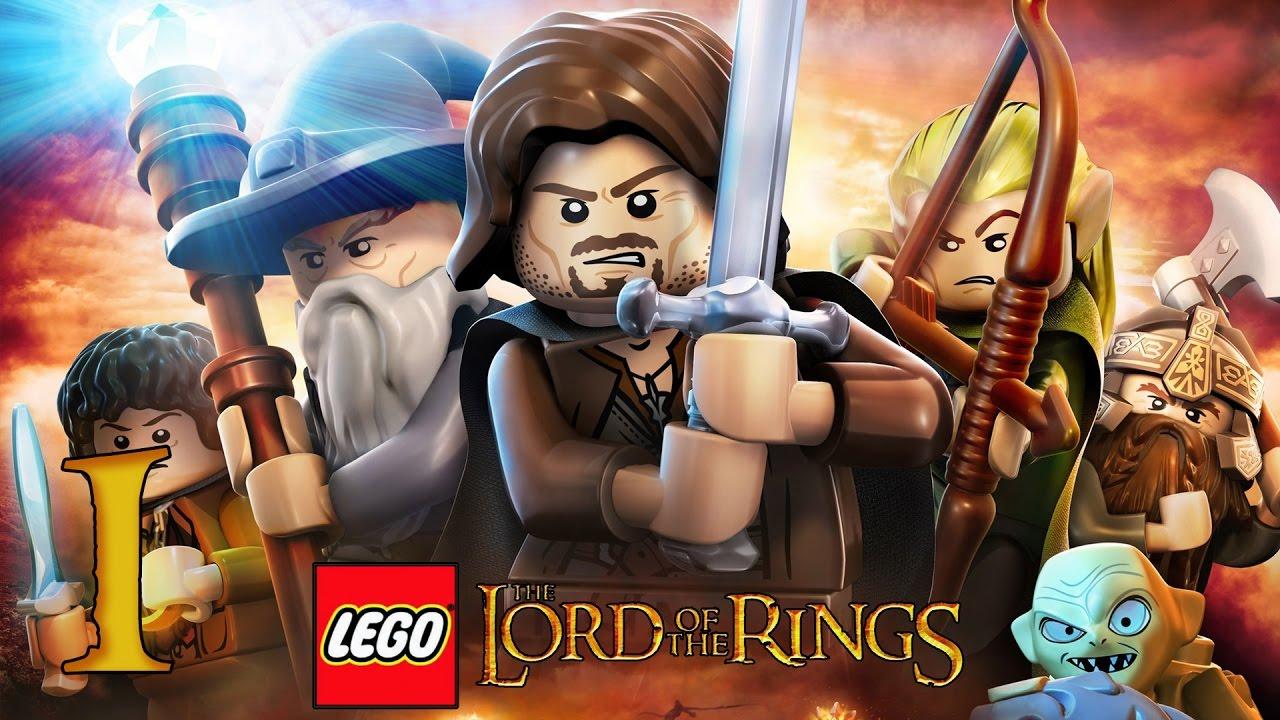 Zagrajmy W Lego Władca Pierścieni 1 Prolog Youtube