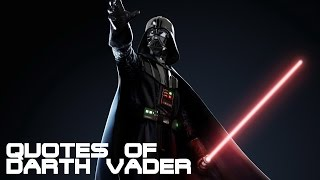 Quotes of Darth Vader HD