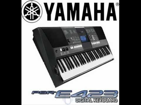 yamaha psr e423 cubase 5 youtube. Black Bedroom Furniture Sets. Home Design Ideas