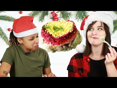 Thumbnail: People Try Christmas Food From Around The World