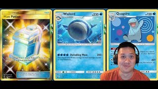 New WAILORD Deck From Celestial Storm, BEST Regular Stage 1 Stats, 230 Damage 1HKO