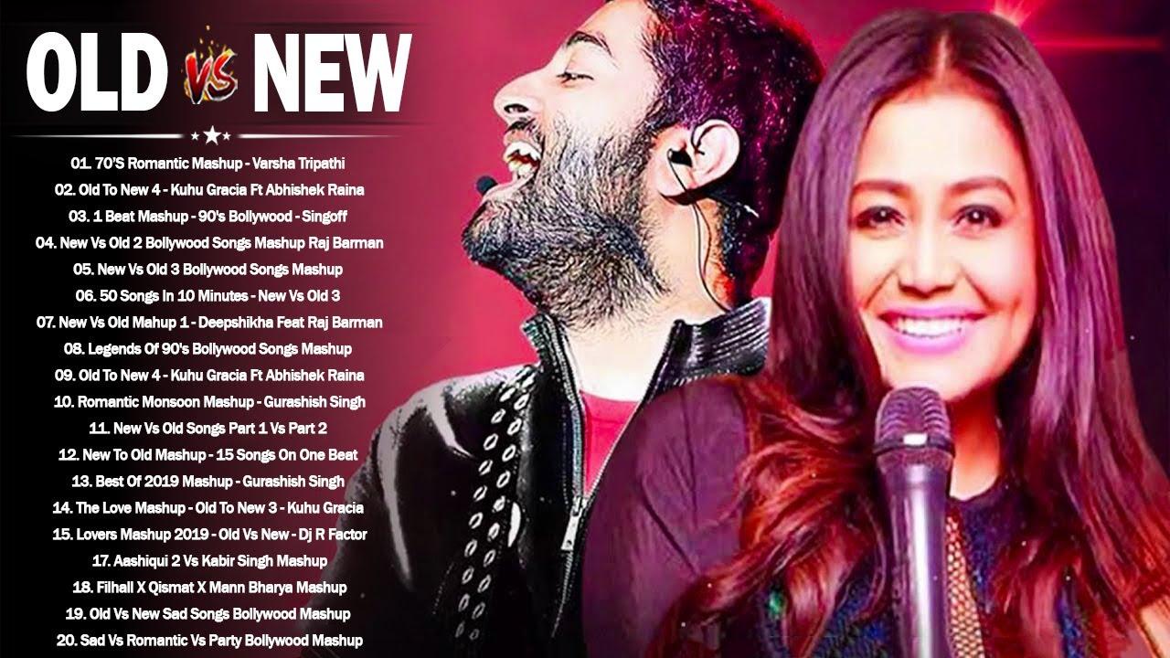 Old Vs New Bollywood Mashup 2021 | 90s Bollywood Songs | Hindi Old Song Indian Mashup June 2021