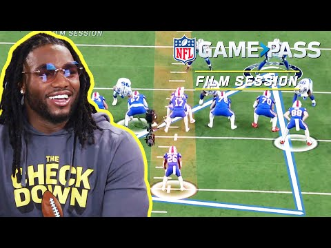 Jaylon Smith Breaks Down, Triangle Vision, Block Shedding, & the Run Game   NFL Film Session