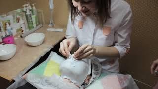 Учимся снимать альгинатные маски - курсы косметологов в учебном центре Эверест Казань