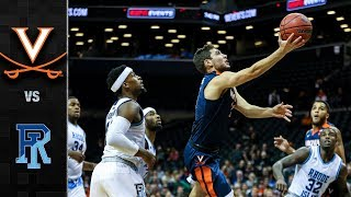 Virginia vs. Rhode Island Basketball Highlights (2017)