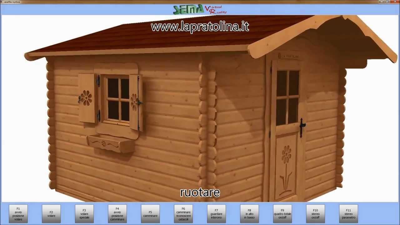 Modelli casette in realt virtuale youtube for La pratolina casette