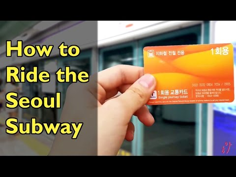 How to Ride the Seoul Subway!! [Survival Tips in Korea ep01]