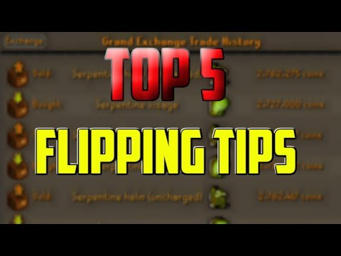 OSRS- How To Flip Items Easily In Oldschool Runescape (Top 5 #1)