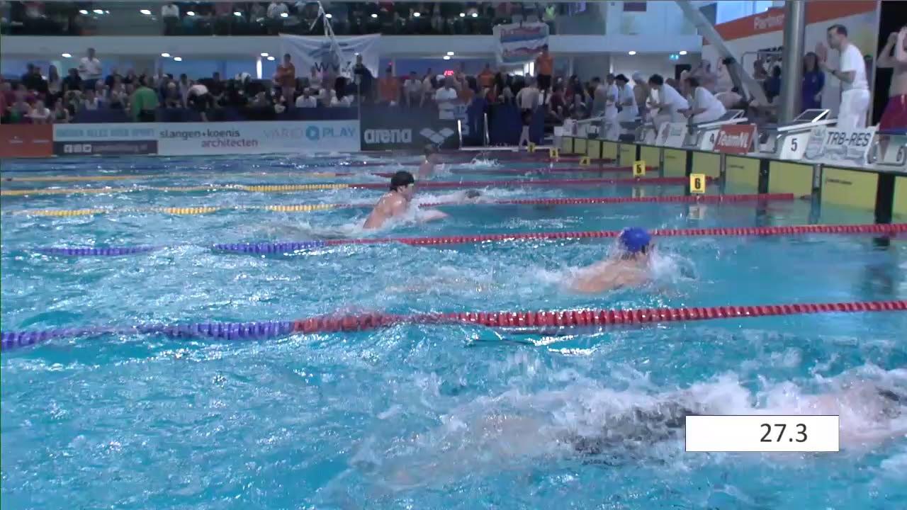 Men m breaststroke onk kb tilburg zwemmen youtube