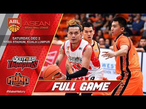 Westports Dragons vs. Mono Vampire | LIVESTREAM | 2017-2018 ASEAN Basketball League