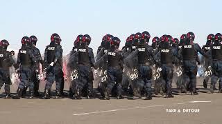 平成30年 神奈川県警察 年頭視閲式 分列行進 thumbnail