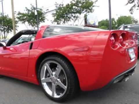 2008 Chevrolet Corvette W Removable Hard Top Coupe Charlotte Nc
