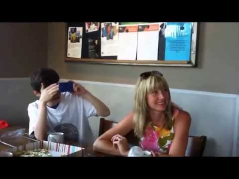 Kate and Andy Wedding proposal   Real Singing Telegrams UK