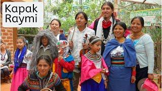 Kapak Raymi en el CECIB Yachay Wasi Quito
