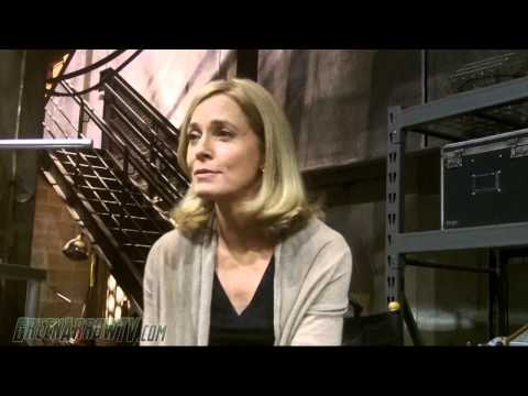ARROW Season 2 OnSet  Susanna Thompson Moira