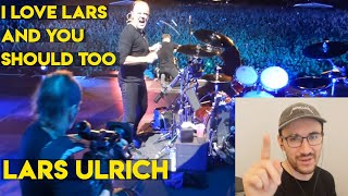 Drum Teacher reacts to Lars Ulrich (Metallica - Sad But True Live)