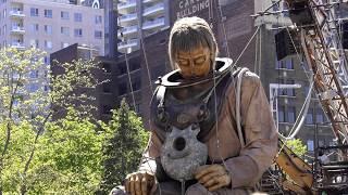 Ballade en 4K dans les rues de Montréal