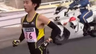 東京マラソン2014 残り1km 松村康平 Tokyo Marathon