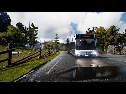 Bus Simulator 18 Gameplay |