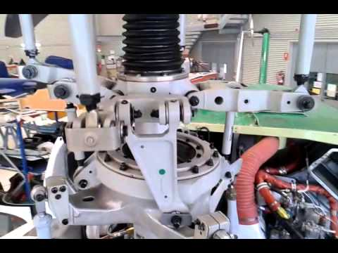 Main rotor hub Bell 412. Test stand(1)