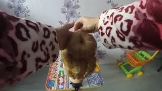 Причёска пучок. Видео урок.