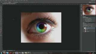Photoshop Tutorial - Rainbow-effect / Regenbogen-Effekt