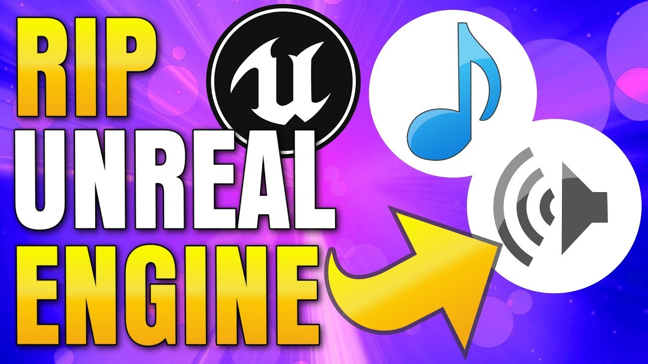 How to extract Music and Sounds from Unreal Engine Games
