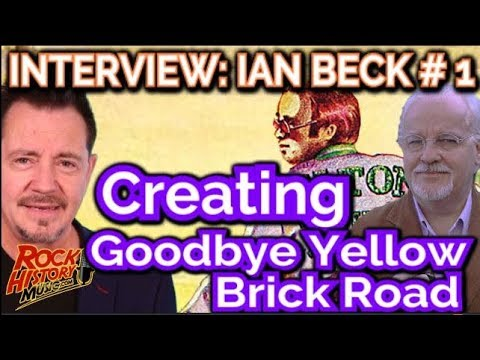 Ian Beck Talks About Creating The Iconic Cover For Elton John's Goodbye Yellow Brick Road
